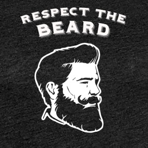 Respect the beard! - Frauen Premium T-Shirt