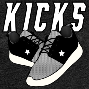 Kicks Grey - Vrouwen Premium T-shirt