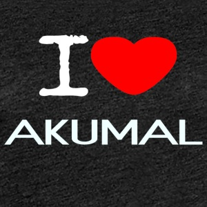 I LOVE AKUMAL - Women's Premium T-Shirt
