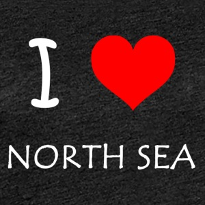 I Love North Sea - Frauen Premium T-Shirt