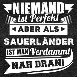Nobody's perfect - Sauerland T-Shirt - Women's Premium T-Shirt