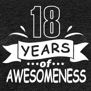 18 years birthday - Women's Premium T-Shirt