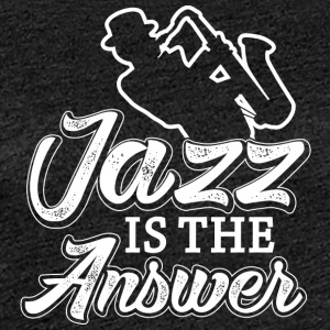 I love jazz - Women's Premium T-Shirt