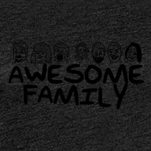 Awesome Family <3 - Frauen Premium T-Shirt