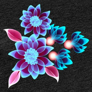 hypnotic blomster - Dame premium T-shirt