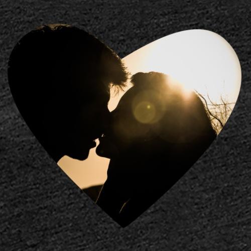 Warm Kiss - Frauen Premium T-Shirt