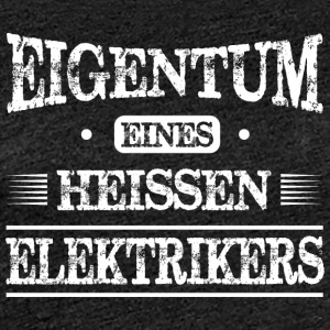 Elektrikers - Frauen Premium T-Shirt