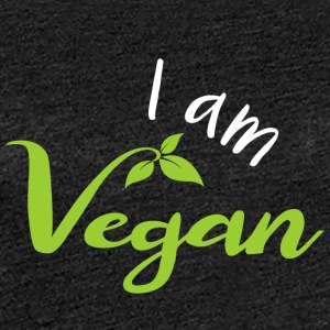 I am a vegan! - Women's Premium T-Shirt