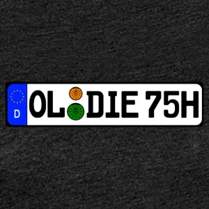 Oldie 75 historically - Women's Premium T-Shirt