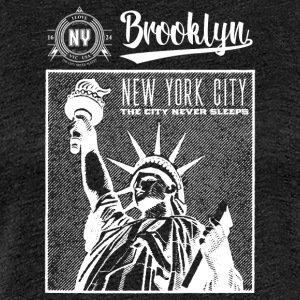 New York · Brooklyn - Dame premium T-shirt