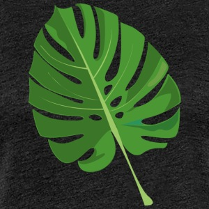 tropical leaves - Women's Premium T-Shirt