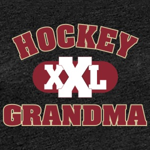Hockey Grandma Grandmother - Women's Premium T-Shirt