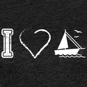I love sailing sailors - Women's Premium T-Shirt