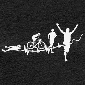 triathlon - Premium-T-shirt dam