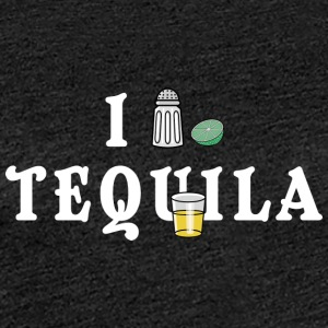 I Love Tequila - Dame premium T-shirt