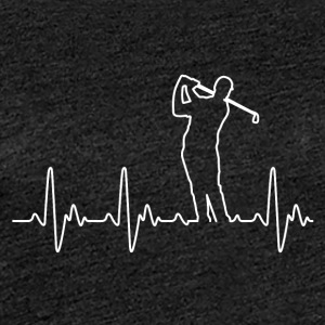 Heart of Golf - Premium T-skjorte for kvinner