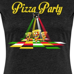 pizza Party - Camiseta premium mujer