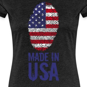 Made in USA / Made in USA Amerika - Premium-T-shirt dam