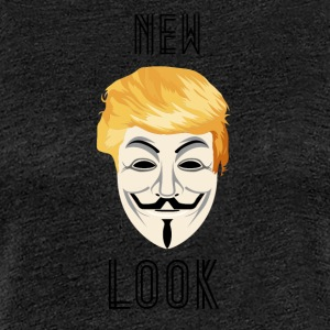 New Look Transparent / Anonymous Trump - Women's Premium T-Shirt