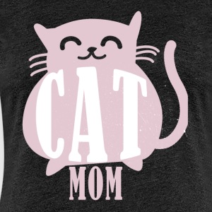 Cat mamma katt mumie cat mumie cat fan gave - Premium T-skjorte for kvinner