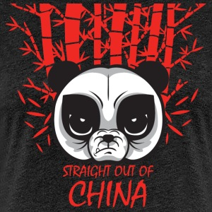 Straight out of China - Women's Premium T-Shirt