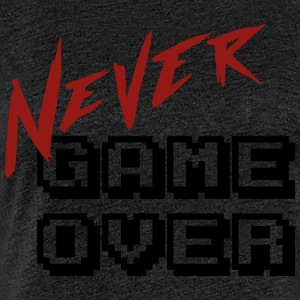 Big_Never_game_Over - Vrouwen Premium T-shirt