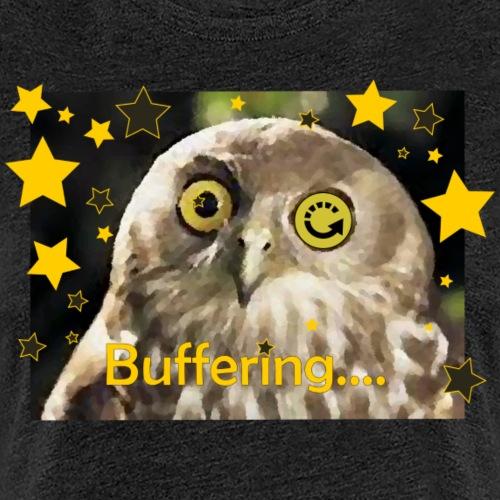 Buffering Owl - Women's Premium T-Shirt