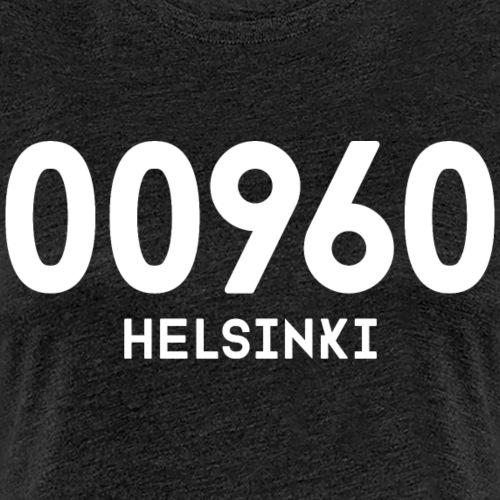00960 HELSINKI - Naisten premium t-paita