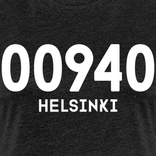 00940 HELSINKI - Naisten premium t-paita