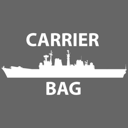 carrier bag white