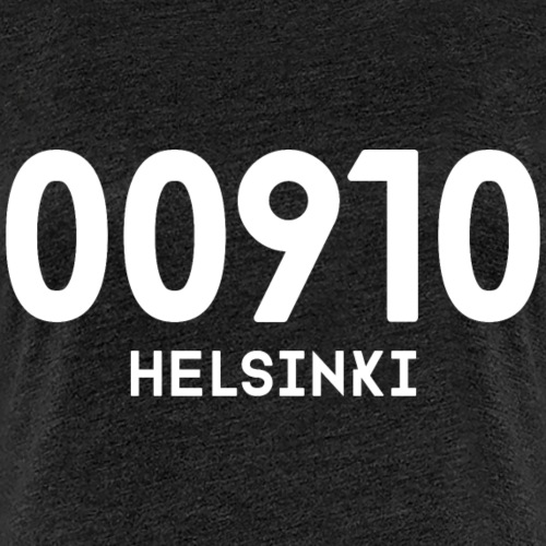 00910 HELSINKI - Naisten premium t-paita
