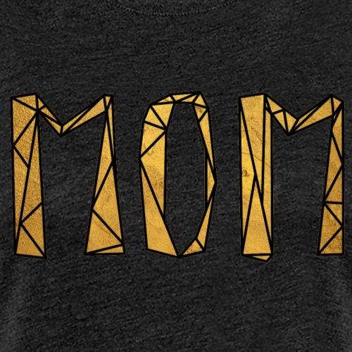 Mom - Gold - Frauen Premium T-Shirt