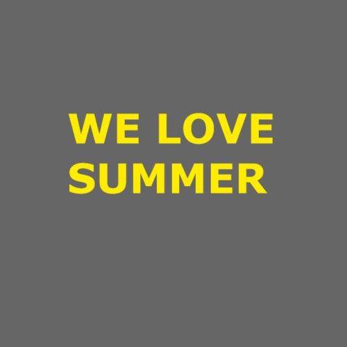 we love summer - Frauen Premium T-Shirt