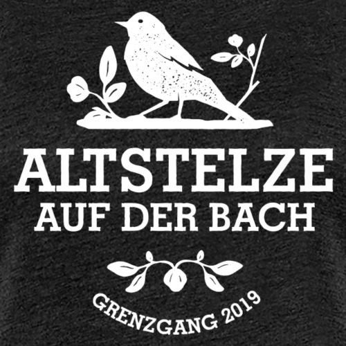 Altstelzen Logo - Weiß