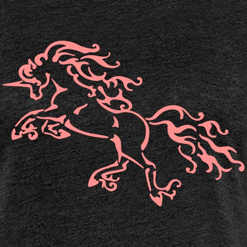 Jednorożec - koń - kucyk - Koszulka damska Premium