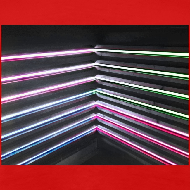 Neon rhombus