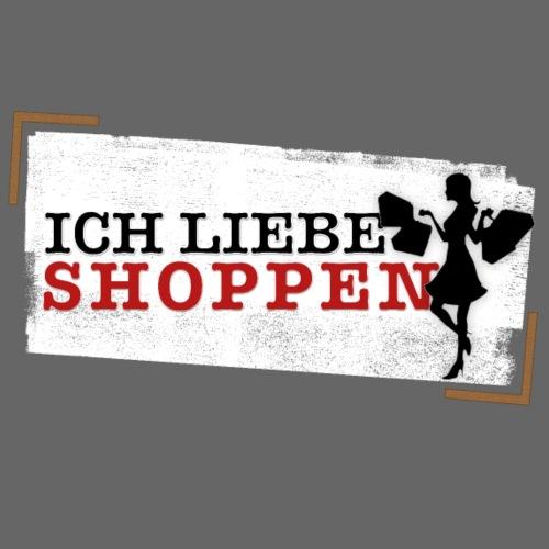 Ich liebe shoppen - Frauen Premium T-Shirt