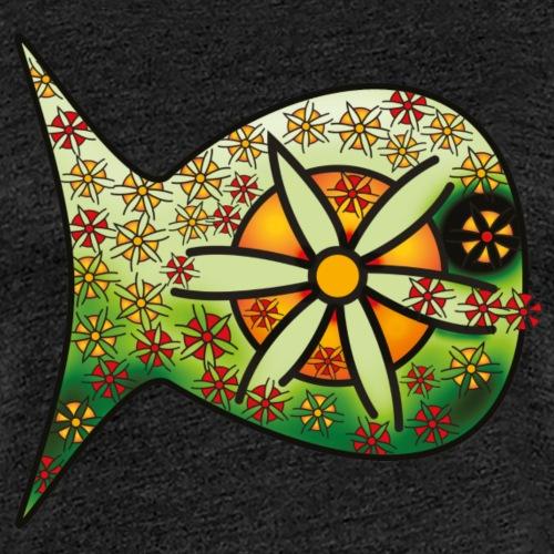 Blüten Fischdesign