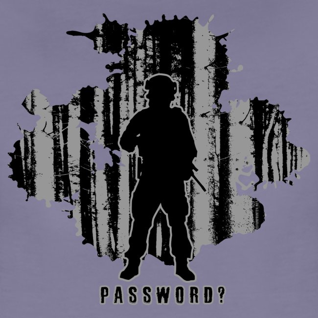 PASSWORD? - MILITARY tekstiles and gifts.