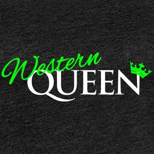 Western-Queen - Frauen Premium T-Shirt