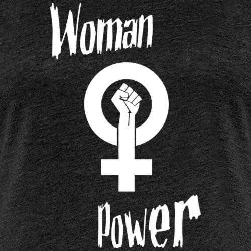 woman power - T-shirt Premium Femme