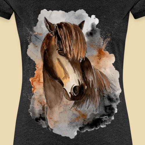 Isländer Askur - Frauen Premium T-Shirt