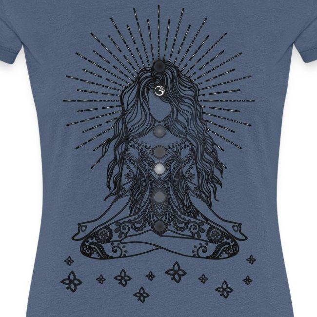 Boho Yoga Mädel Happy Life