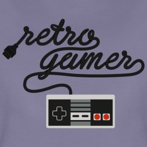 Retro Gamer NES - Premium-T-shirt dam