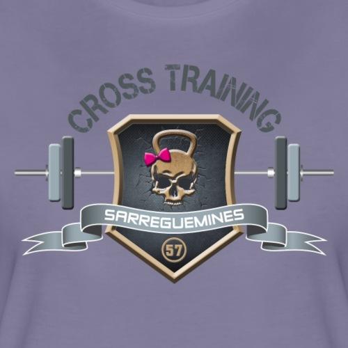 CROSS TRAINING 57 - Logo Femme - T-shirt Premium Femme