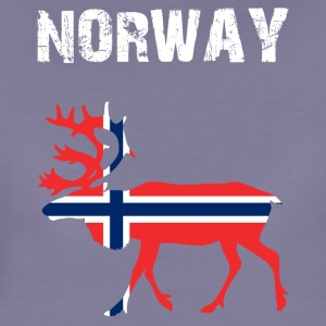 Nation-Design Norway Reindeer - Frauen Premium T-Shirt