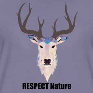 respect Nature - Women's Premium T-Shirt