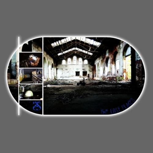 Lost Place Collage - Frauen Premium T-Shirt