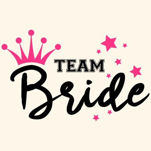 Team Bride, Hen Party, Bachelorette Parties, Posse - Women's Premium T-Shirt