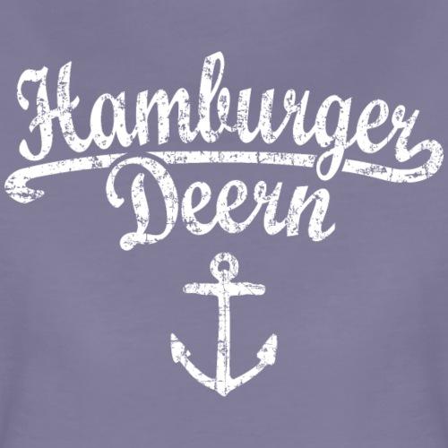 Hamburger Deern Klassik (Vintage Weiß) Hamburg - Frauen Premium T-Shirt